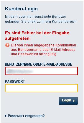 Mein eventim passwort ändern