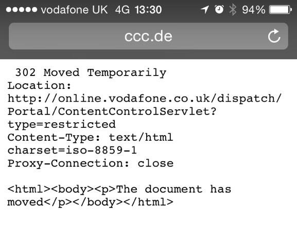 302 Moved Temporarily Location: http://online.vodafone.co.uk/dispatch/Portal/ContentControlServlet?type=restricted