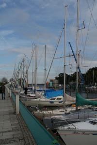 Fischerboote im Ryck